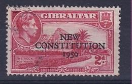Gibraltar: 1950   Inauguration Of Legislative Council    SG140    2d     Used - Gibraltar