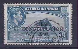 Gibraltar: 1950   Inauguration Of Legislative Council    SG141    3d     Used - Gibraltar