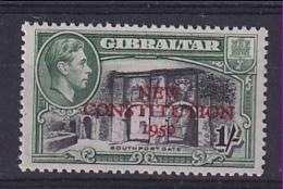 Gibraltar: 1950   Inauguration Of Legislative Council    SG143    1/-     MNH - Gibraltar
