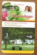 62 HELFAUT L'HERMITAGE CARTE PASSMAN 3H PRÉPAYÉE PAS TÉLÉCARTE PHONECARD - France