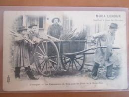 Les Ramasseurs De Bois Pour Les Feux De La St Jean  . Publicitee Moka Leroux  . Rare - Non Classificati