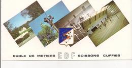 CP 10x22 Cm -  02 - ECOLE DE METIERS E.D.F.  SOISSONS-CUFFIES - Soissons