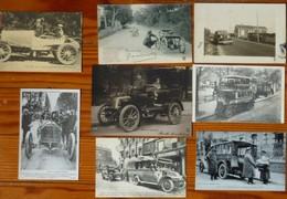 Lot De 8 Cartes Sur L'automobile - Cartes Postales