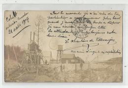 Canada Ontario Cobalt Mine D'argent 1907 Envoyée Pour France Mamers Sarthe 72 Carte Photo - Andere