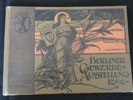 Plaquette Avec 24 Photos De 1896 Berliner Gewerbe Austellung -- Exposition Commerciale Berlin De 1896 -- M2 - Berlin & Potsdam