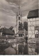 ECKBOLSHEIM, Ruisseau Du Moulin, église Protestante - 67.118.05 BUHREL - Altri Comuni