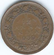 India - George VI - 1939 - 1/12 Anna - KM527 - India