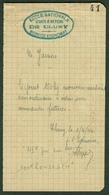 """CLUNY (Saone&Loire) Coupon D'Achat Carte Ravitaillement Provisoire 1944 """" 150 Kg Acier Ordinaire """" - Documents Historiques"""