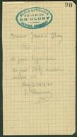"""CLUNY (Saone&Loire) Coupon D'Achat Carte Ravitaillement Provisoire 1944 """" 50 Kg Papier Hygienique """" - Documents Historiques"""