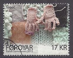 Foroyar / Faroe Islands - 2015 SEPAC Issue, Knitted Art, Handicraft, Artesanat, Used - Féroé (Iles)
