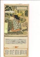 Calendrier 1978  Format 10x22 Cm  Sur Les Travaux De Jardinage  -  Belles Images à Voir... - Calendars