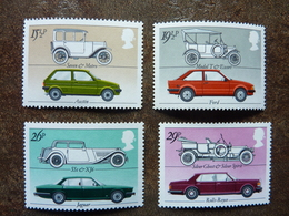 1982 British Motor Industry  SG = 1198 / 1201   **  MNH - 1952-.... (Elizabeth II)