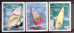 Mali 1982 Winsurfing  Mi Nr  941-43, MNH/** - Sci Nautico