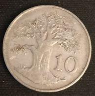 ZIMBABWE - 10 CENTS 1980 - Baobab - KM 3 - Zimbabwe