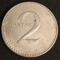 ANGOLA - 2 KWANZAS ( 1977 ) - KM 84 - ( 11 DE NOVEMBRO DE 1975 ) - Angola