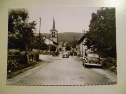 CPA / Carte Postale Ancienne  / Ain / HOTONNES Voitures Sur La Place - Autres Communes