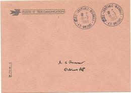 Lettre De La Poste Obliteration De Sevice Agence Comptable Regionale 45 Orleans - Lettere In Franchigia Civile