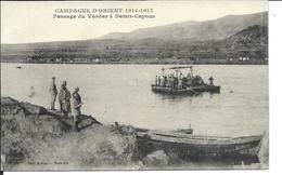 MACEDONIA 1917 MILITARIA - Passage Du VARDAR - DEMIR-CAPOUS -  Buy It Now ! - Macedonia