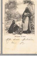 CPA EGYPTE Marchands De Dattes De 1912 - Egypte