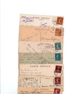 TIMBRE TYPE SEMEUSE CAMEE..VOIR DETAIL.....VOIR DETAIL......LOT DE 100 SUR CPA.....VOIR SCAN......LOT 12 - 1906-38 Semeuse Camée