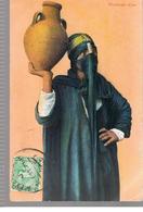 CPA EGYPTE Porteuse D'eau De 1910 - Egypte