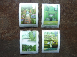 1983 British Gardens   SG = 1223 / 1226   **  MNH - 1952-.... (Elizabeth II)