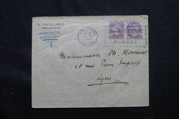 FRANCE - Enveloppe De St Etienne Pour Lyon En 1929, Affranchissement Blanc Et Semeuse Caisse D'Amortissement - L 58999 - 1921-1960: Modern Tijdperk