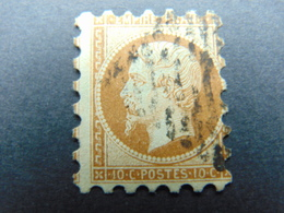 Très Beau Piquage Susse Sur N°. 13A Oblitéré - 1853-1860 Napoléon III
