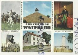 Waterloo.Mosaïque. Monuments Français Et Britannique. Le Caillou. Editions JUVA - Watermael-Boitsfort - Watermaal-Bosvoorde