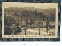 34-LA SALVETAT-Une Vue Du Barrage De L'Usine Electrique Sur L'AGOUT - La Salvetat