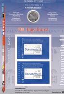 Wgd_ Deutschland - Numisblatt 3/2002 - 10 Euro - Documenta 11 - Originalverpackung - [10] Commemorative