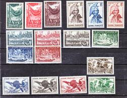 Guyane 201/217 Aspects De La Guyane Neuf ** TB Mnh Cote 63 - Guyane Française (1886-1949)