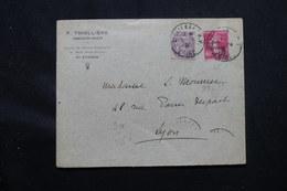 FRANCE - Enveloppe De St Etienne En 1931, Affranchissement Blanc Et Semeuse Caisse D'Amortissement - L 59011 - 1921-1960: Modern Tijdperk