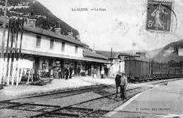 LA CLUSE (Ain) - 3 CPA. La Gare. Le Lac. Circulées. Bon état. 3 Scan - Other Municipalities