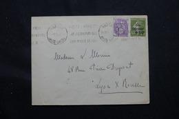 FRANCE - Enveloppe De Annecy En 1932, Affranchissement Blanc Et Semeuse Caisse D'Amortissement - L 59018 - 1921-1960: Modern Tijdperk