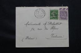 FRANCE - Enveloppe De St Etienne En 1932, Affranchissement Blanc Et Semeuse Caisse D'Amortissement - L 59019 - 1921-1960: Modern Tijdperk