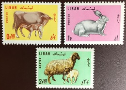 Lebanon 1965 Farm Animals MNH - Boerderij