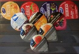 10 Marmeladendeckel Deutschland - Milk Tops (Milk Lids)
