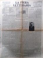 La Fiera Letteraria Del 21 Novembre 1926 Arte Fascista Ercole Mestrovic Pedrollo - Guerre 1914-18