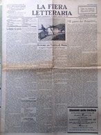 La Fiera Letteraria Del 5 Dicembre 1926 Pirandello Donati Cardani Medicina Arabi - Guerre 1914-18
