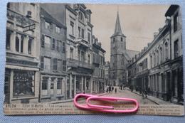 """ARLON :l'église ST-MARTIN, Le Café Chez MICHE Et Le Chapelier """"MODERN HOUSE"""" En 1914 - Arlon"""