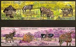 Burundi 1971 OCBn° LP PA 227-234 *** MNH  Cote 25,00 Euro Faune Met Opdruk - 1970-79: Neufs