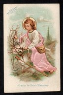 Santino/holy Card - GESU' IL BUON PASTORE -E-PR- Mm. 70 X 110 - Cromolito Groffata (rilievo) - E - RB - Ed. D'AIGUEBELLE - Religion &  Esoterik