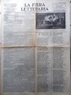 La Fiera Letteraria Del 26 Dicembre 1926 De Roberto San Francesco Lipparini Duce - Guerre 1914-18