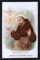 Santino/holy Card - S. FRANCESCO D'ASSISI -E-PR- Mm. 70 X 110 - Cromolito Groffata (rilievo) -E - RB - Ed. D'AIGUEBELLE - Religion & Esotérisme