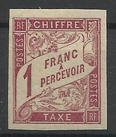 Colonies Générales Taxe N° 25 ** Neuf Sans Charnière - Taxes