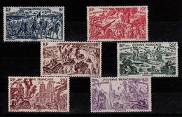 Guyane - YV PA 29 à 34 N** Serie Complete Tchad Au Rhin - Unused Stamps