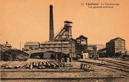 Charleroi Le Charbonnage Vue Générale Extérieure Postée De Lodelinsart - Charleroi