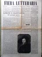 La Fiera Letteraria Del 13 Novembre 1947 Pittura Liguria Ferrara Bettini Rubens - Guerre 1914-18