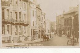 ROYAUME UNI ))  ANGLETERRE   HAUELOCK ROAD   HASTINGS / CARTE PHOTO - Hastings